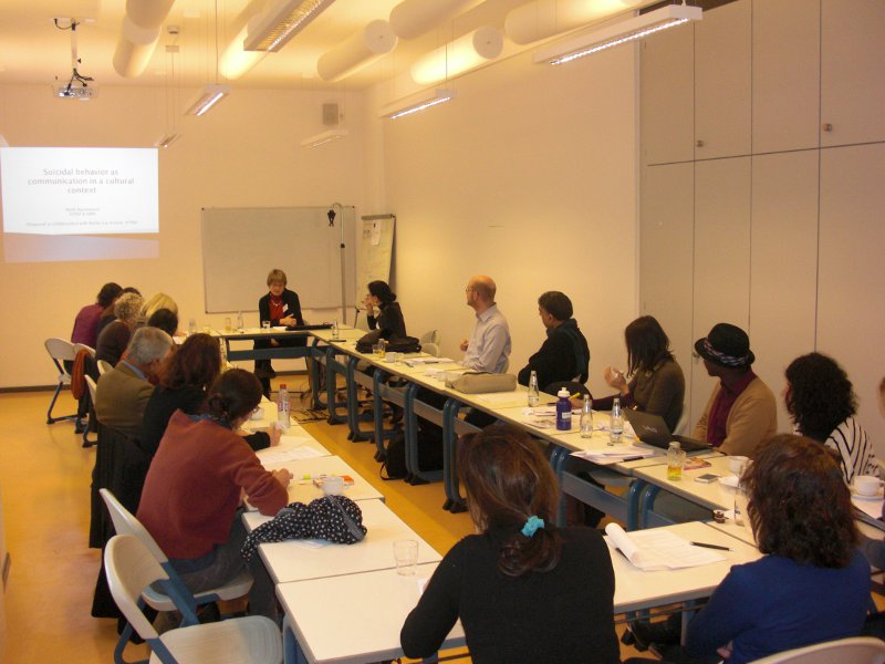Conference Berlin 2012: Suicidal Behavior of Immigrants and their Descendants in Europe